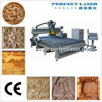 atc woodworking cnc router / wood machine with auto tool changer