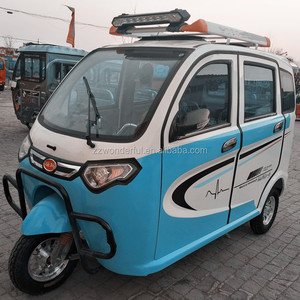 factory price 3 wheel enclosed electric tricyle with passenger seat for adults