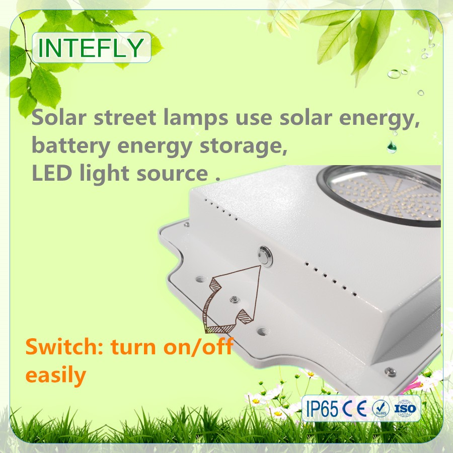 Solar system new products best selling intelligent integrated all in one solar street light