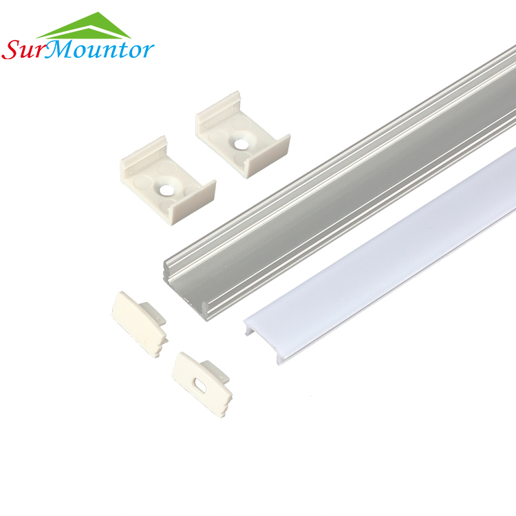 Extruded <strong>Aluminum</strong> Led Alu Profile Aluminium Profile For Strip Led
