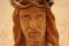 Olive Wood Carved Jesus Big Statue