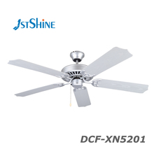 "Electric motor 52"" 5 blade low power consumption parts decorative ceiling fan"
