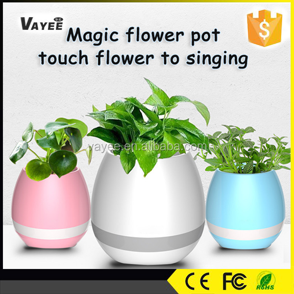 New!! Best-selling item flower pot speaker high quality silicone flower pot