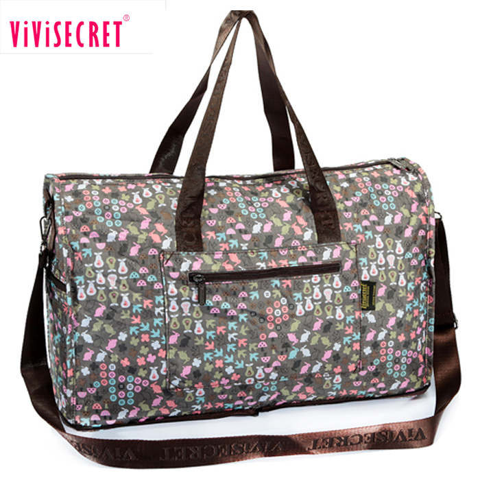 Alibaba China hot selling quilted duffel bag business fancy ladies luggage travel bag