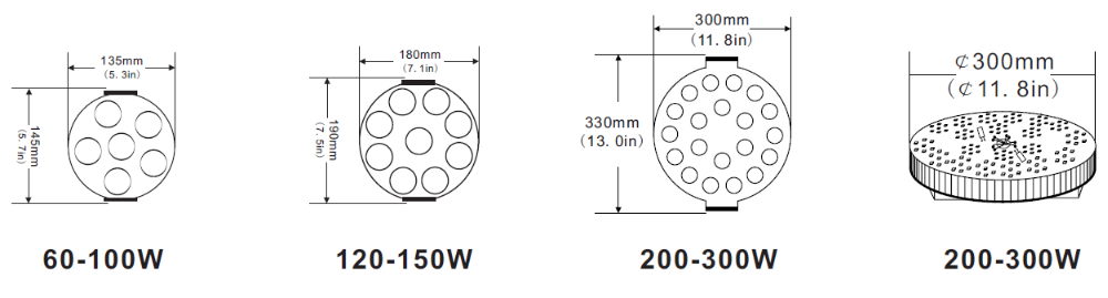 1000w led street lamp retrofit kit