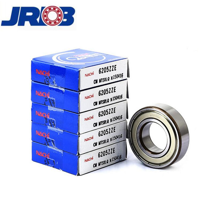 Japan brand nachi bearing 6205 zz 25*52*15 mm in whole sale price