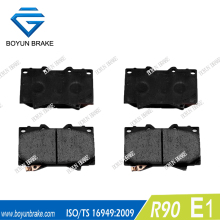 Universal brake pad for LEXUS D772 0446560230 23524
