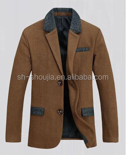 2014 new design business men suit casual blazer