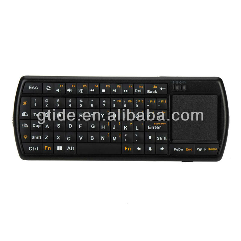 2013 hot selling mini wireless bluetooth keyboard for linux os