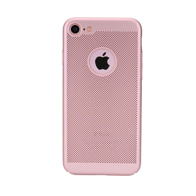 Amazon Hot Selling Grid point pattern solid color TPU case for iphone 7/7 Plus