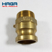 High quality brass cam & groove quick fitting