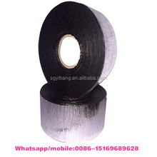 Roofing waterproof used 1.0mm aluminum foil self-adhesive bitumen flashing tape / roof repair tape, Alphalt membrane