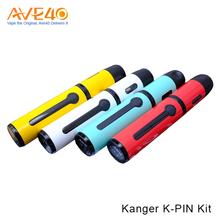 Alibaba Express Innovative E-Cigarette Vape Pen Kit Kanger K-PIN Starter Kit With 5 LED Battery Indicator