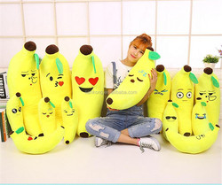 2016 New Style Hot Sale stuffed plush toy fruit emoji toy