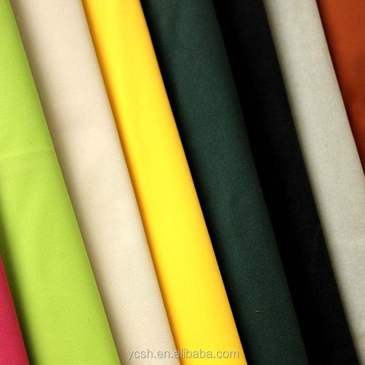 china supplier microfiber fabric leather for garment gloves