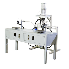 Shuang Jia latest technology hot melt stainless steel gluing machine