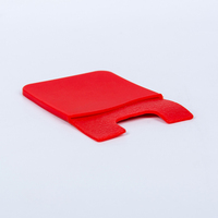 Accepted oem 3m adhesive sticker silicone phone card holder wallet