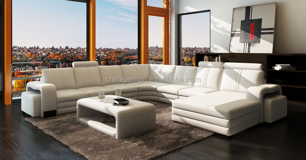 petitive Price Cheap Leather Sofa Furniture Living Room