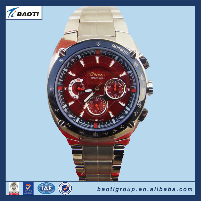 high quality titanium watches men luxury brand automatic
