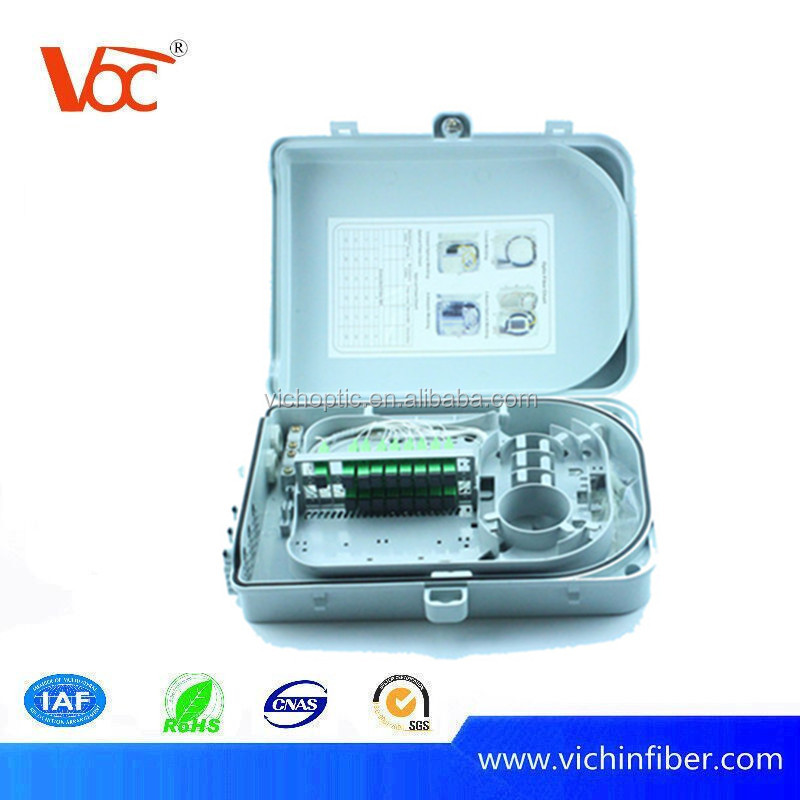 High quality 16 ports FTTH Optical Fiber Distribution Box