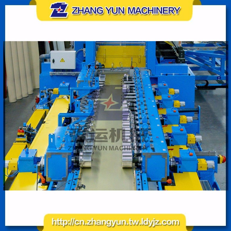 Top sale stainless steel rain gutter tube making roll forming machine