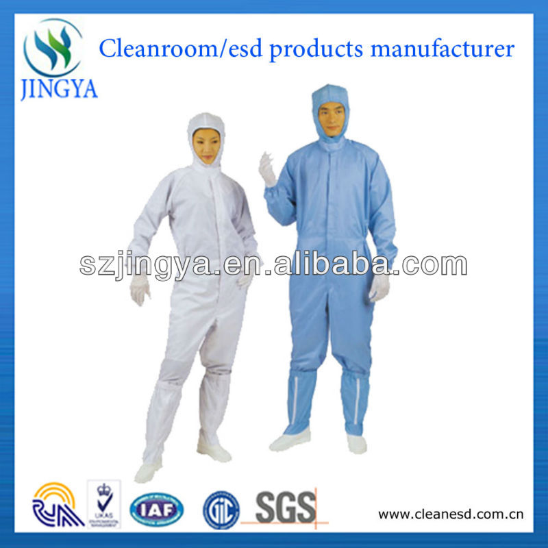 anti-static work clothes, cleanroom garment