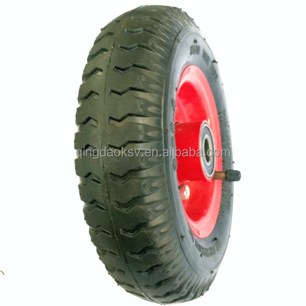 8x2.50-4 pneumatic wheel for trolley 2.50-4 rubber tires for trolley cart
