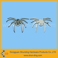 Customize Spider Shape Metal Logo