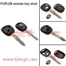 Excellent Toyota car key 2 button remote car key shell with Toy41 blade