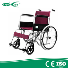 Cofoe Economic lightweight Manual hospital handicapped Aluminum Wheelchair for disable people