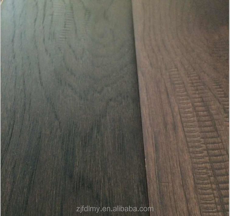 Hight quality Handscraped Hickory Engineered Wood Flooring