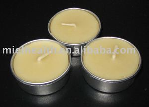 Natural Beeswax Tealight Candle
