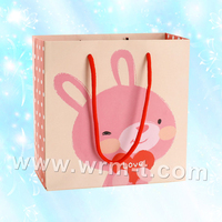 High Quality OEM Design Cheap Washable Paper gift Bag With Logo printed