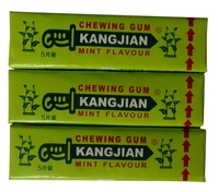 mint chewing gum banana chewing gum