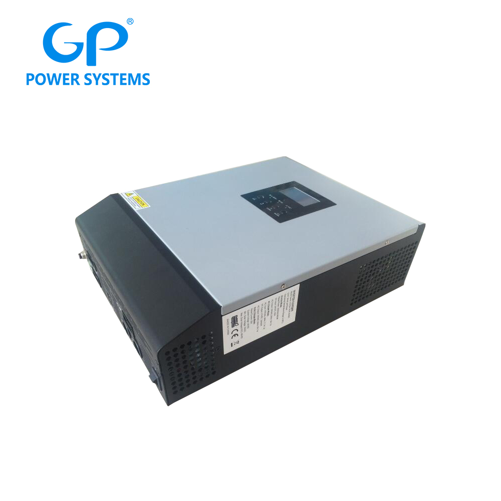 GP 3000w off grid hybrid solar power pure sine wave inverter with mppt charge controller