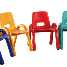 Kindergarten Furniture Stackable Plastic Chair For Kids