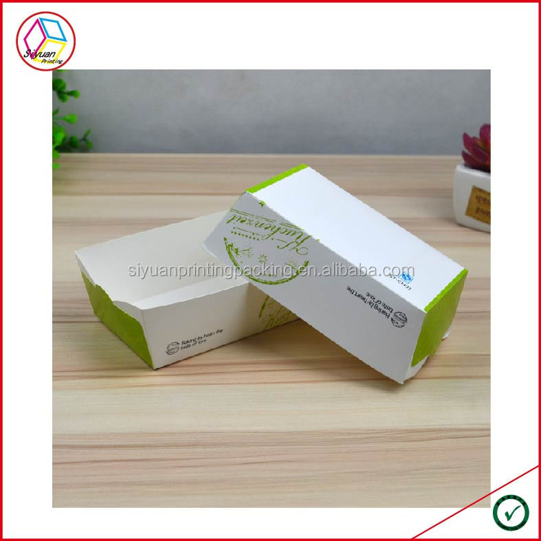 High Quality Custom Printed Paper Food Tray