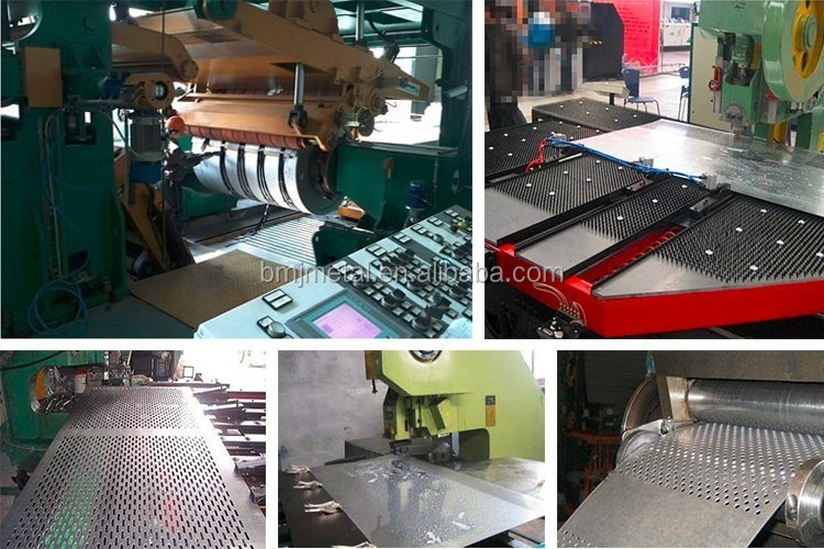 Stainless Steel Perforated Sheet , Aluminium Hole Punching Sheets