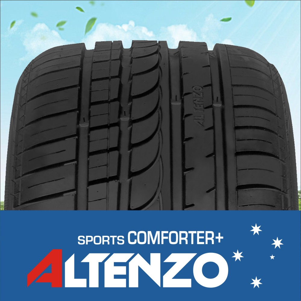 Altenzo brand car tyre with ECE from PDW group, sports comforter+ 225 55ZR17 101W XL
