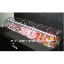 Large Acrylic Stackable Topping Bulk Food Bins
