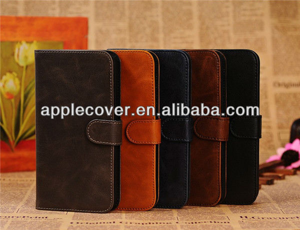 Mobile Phone Wallet case for Samsung Galaxy Mega 5.8 i9152