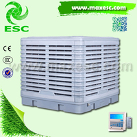 18000airflow mobile outdoor cooling fan mist water fan