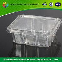 Disposable wholesale clear cake slice plastic boxes