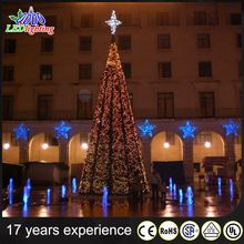 Wholesale Giant Artificial Christmas Tree, Spiral LED Christmas Tree