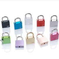 AJF New arrival TUV test passed, ROHS colorful High-end square love key lock