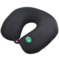 Polyurethane travel vibrating neck massage pillow