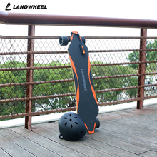 DIY longboard 4 wheels dual hub 2200w cheap electric skateboard with motor kit
