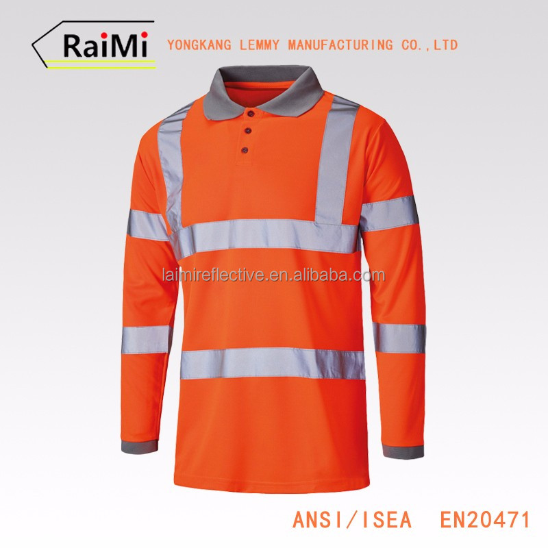 New Product OEM customized safety reflective men dress shirt manufacturers