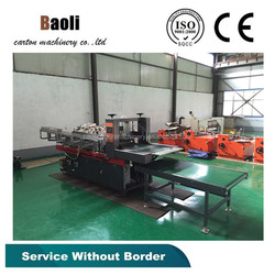 Full automatic partition assembler machine/Equipment for the production of corrugated board