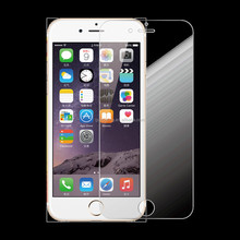 Factory wholesale! 0.2 / 0.33mm 2.5D anit-broken tempered glass HD screen protector for iphone5 6s plus